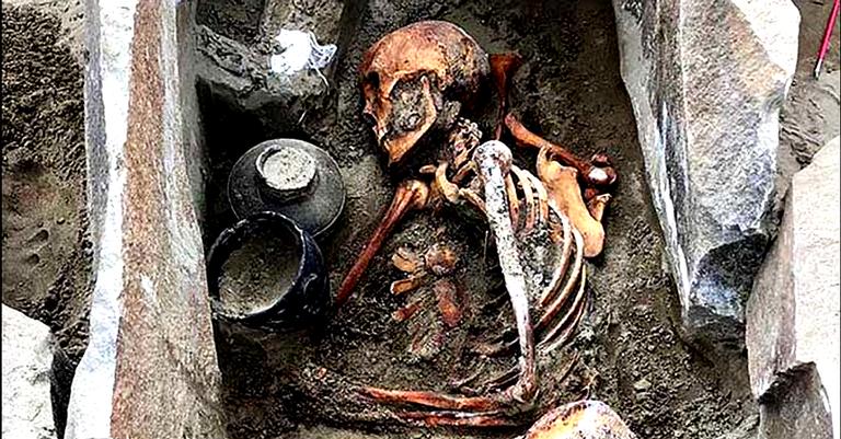 O ótimo estado de conservação, surpreendeu os arqueólogos