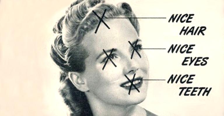 Cada mínimo detalhe na apresentação da mulher deveria ser perfeito, desde a aparência até o odor e o estado de espírito dela