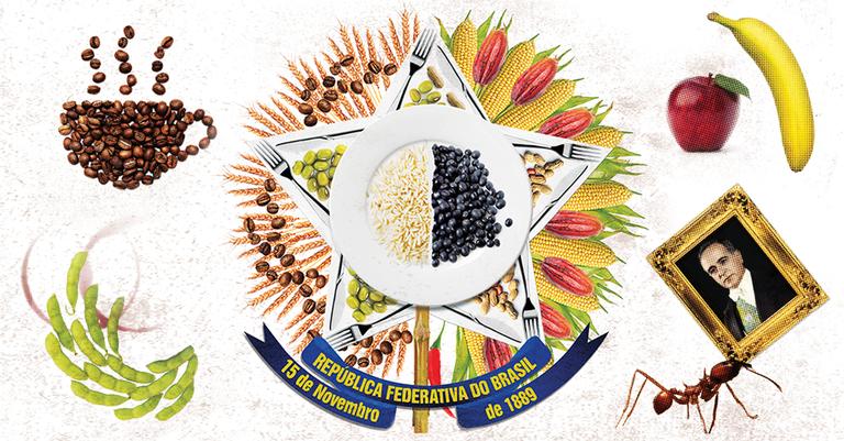 Plantas estrangeiras são a base da agricultura brasileira