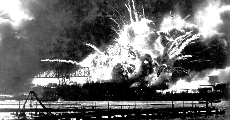 O ataque a Pearl Harborresultou em uma verdadeira tragédia