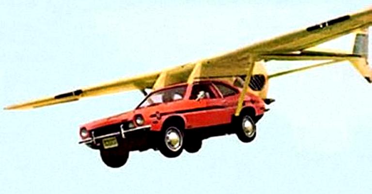 O incrível Ford Pinto voador