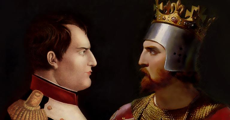 Napoleão Bonaparte e Ricardo, Coração de Leão