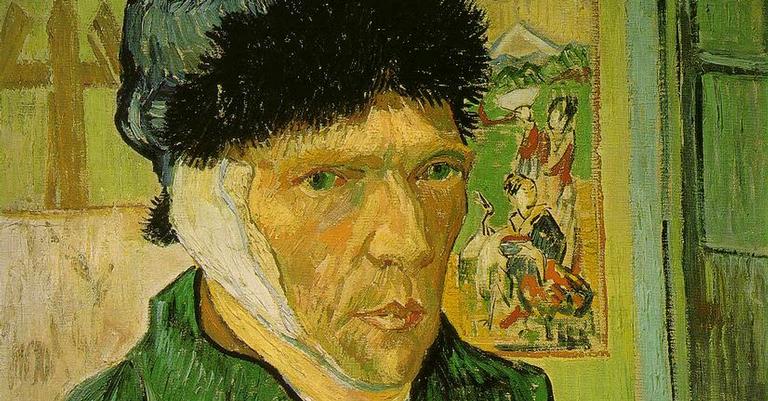 Autorretrato com a Orelha Cortada, de Van Gogh