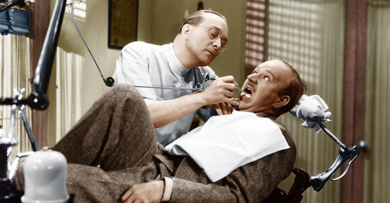 No passado, o medo de dentista era justificável