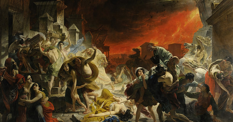 O último dia de Pompeia, de Karl Bryullov