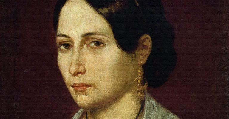 Anita Garibaldi em retrato caseiro