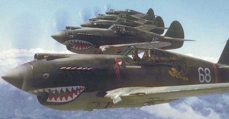 Tigres vodores, a frota dos Estados Unidos