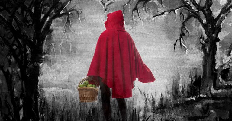 Qual a verdadeira história da chapeuzinho vermelho?