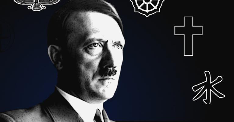 Hitler e os símbolos