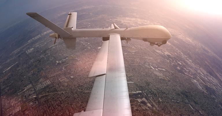 A história dos drones