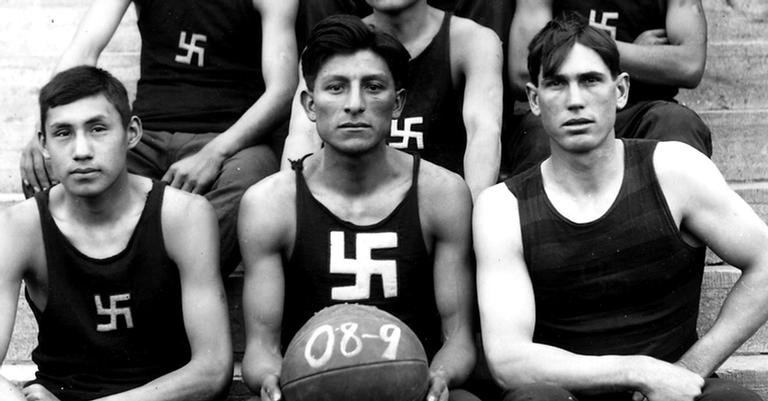 Seleção de basquete dos índios americanos, 1909