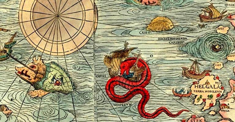 Entenda como os dragões surgiram nos mapas