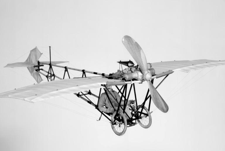 Avião Demoiselle, em 1908