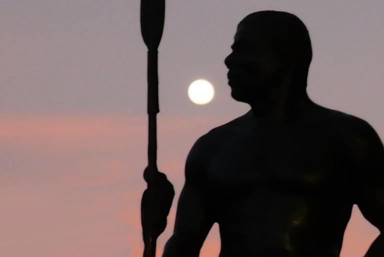 Estátua de Zumbi em Salvador
