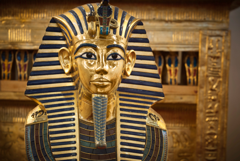 Tampa do sarcófago de Tutancâmon