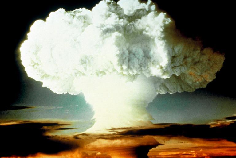 Teste de bomba atômica