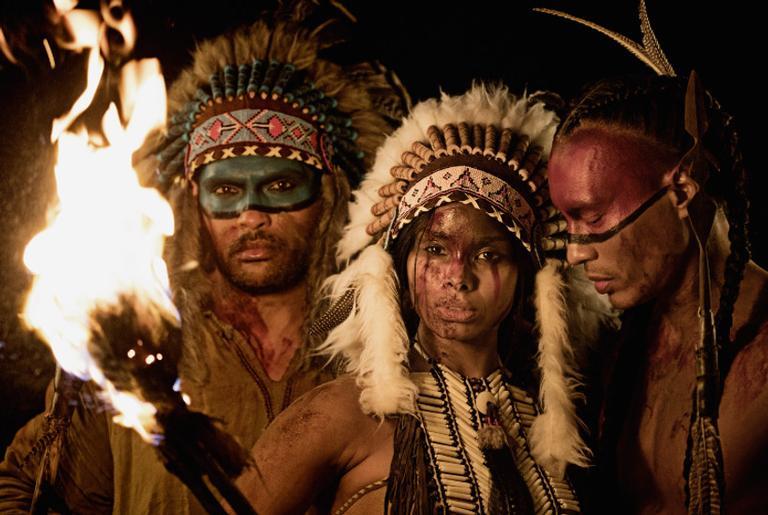 Representação de índios nativos americanos