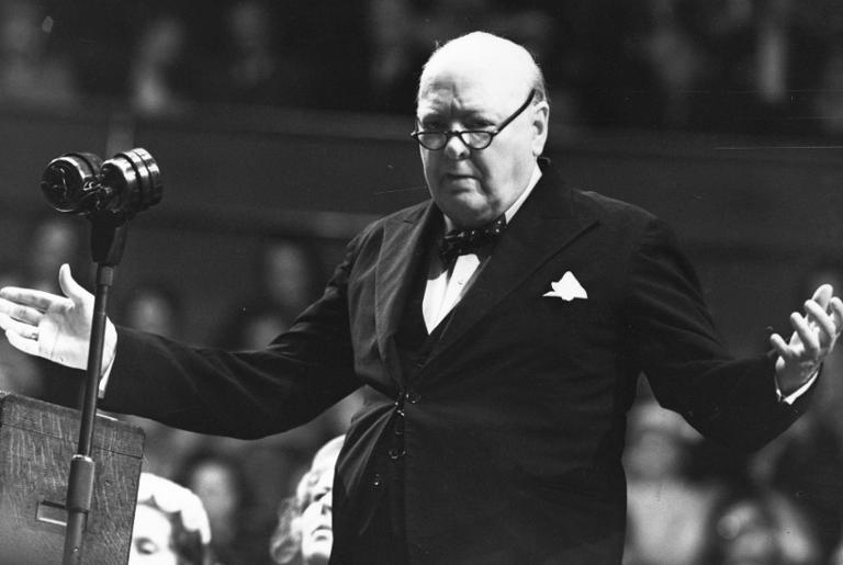 Winston Churchill, o primeiro ministro britânico