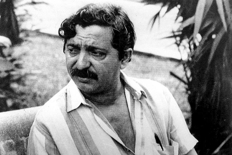 O sindicalista Chico Mendes, assassinado em 22 de dezembro de 1988