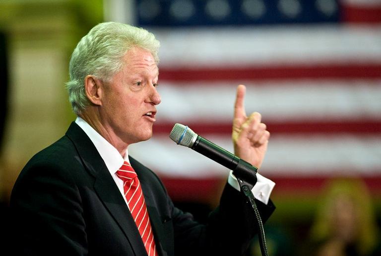 Ex-presidente dos Estados Unidos, Bill Clinton