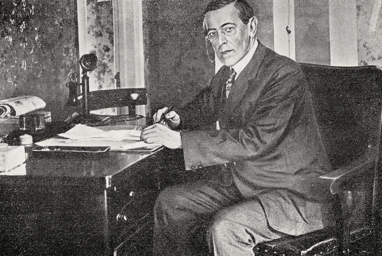 Woodrow Wilson, ex-presidente dos EUA