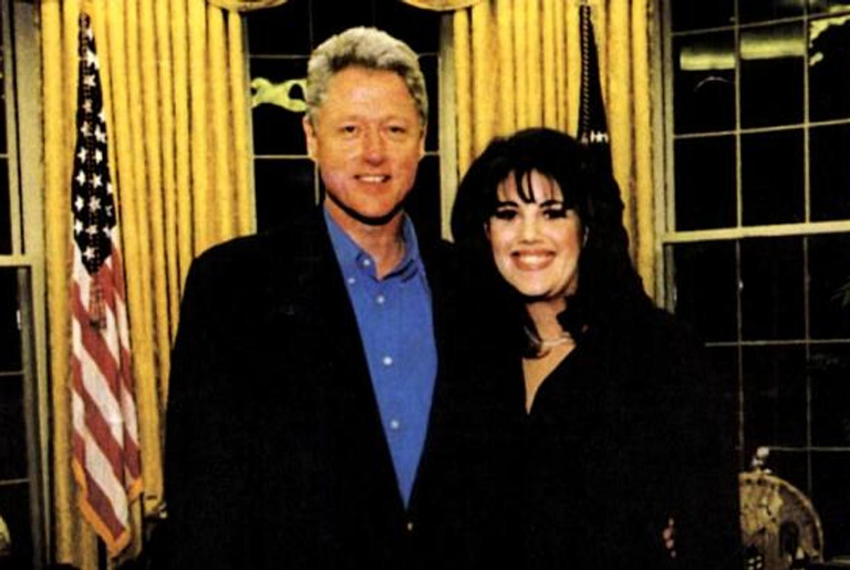 Bill Clinton e Monica Lewinsky