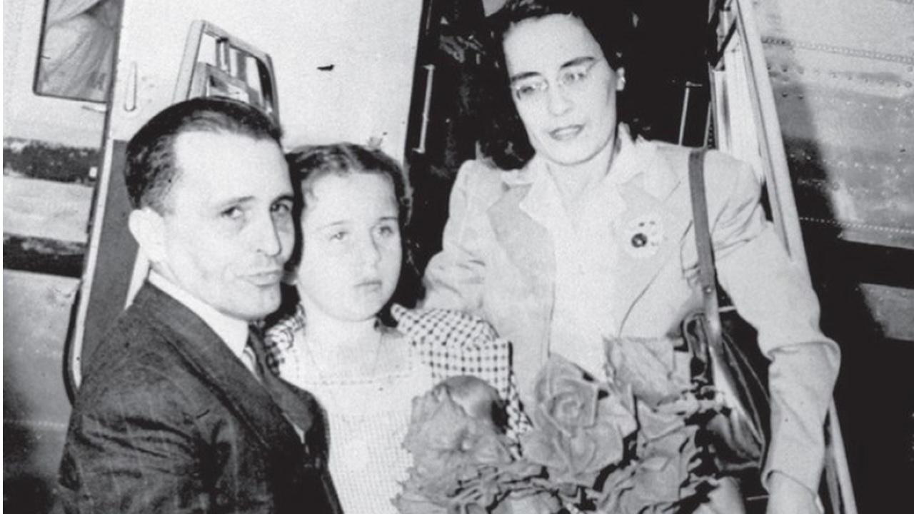 Prestes e Olga