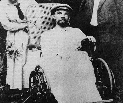 Lenin em seus dias finais